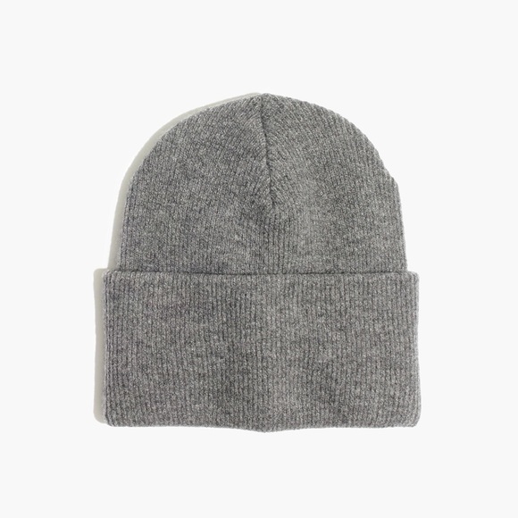 9c73d04e241 Madewell Accessories - Madewell Ryder Cuffed Beanie in Gray